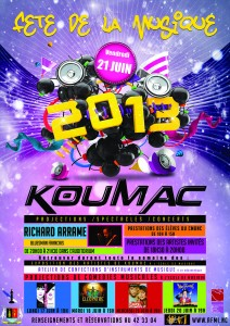 FDM koumac 2013