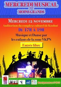Publicité MERCREDI MUSICAL DMG