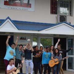 La première option facultative musique du Lycée Laperouse.